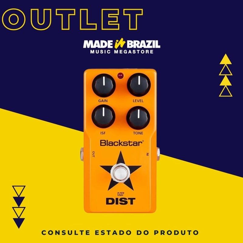 Pedal de Distorção para Guitarra LT Dist Blackstar