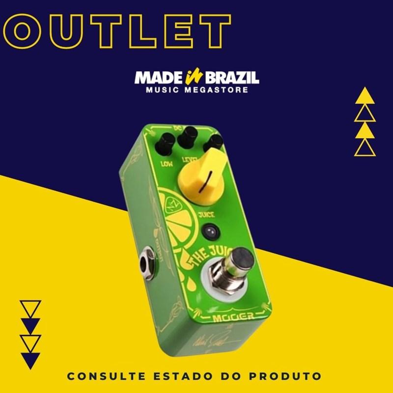 Pedal de Overdrive para Guitarra The Juicer Neil Zaza ANZ 1 Mooer
