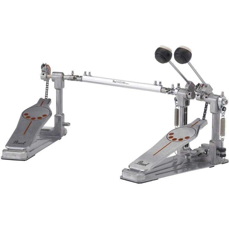 Pedal Duplo para Bumbo de Bateria Demonator P932 Pearl