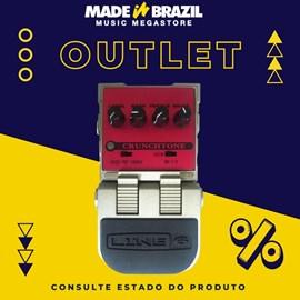 Pedal Line 6 Cruchtone para Guitarra Line 6