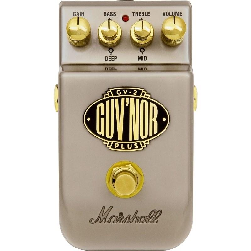 Pedal Marshall Gv-2 Guv'nor Plus para Guitarra Marshall