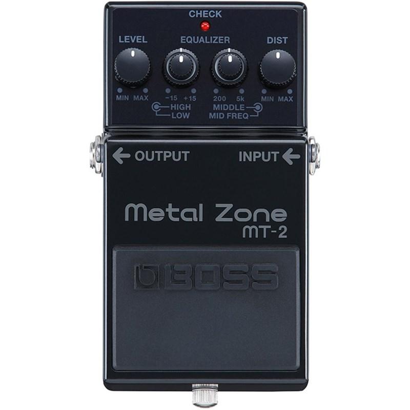 Pedal Metal Zone Para Guitarra MT 2 Edição de Aniversário 30 Anos Boss