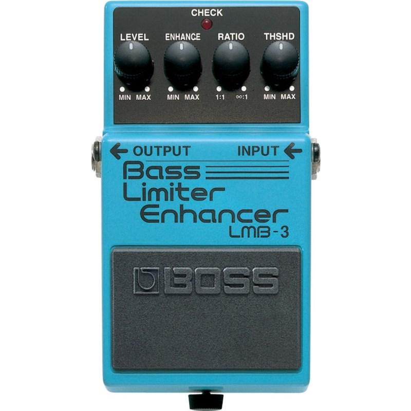 Pedal para Baixo LMB-3 Bass Limiter  Enhancer Boss