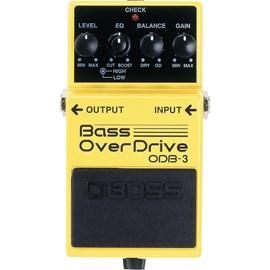 Pedal para Contrabaixo ODB 3 Bass Overdrive Boss