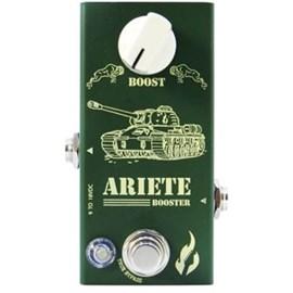 Pedal para Guitarra Ariete Booster Fire Custom Shop