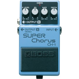 Pedal para Guitarra CH 1 Super Chorus Boss