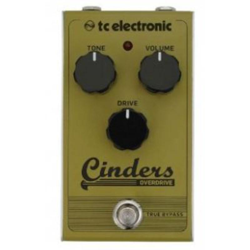 Pedal para Guitarra Cinders Overdrive TC Electronic