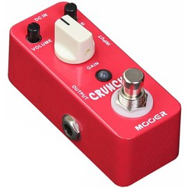 Pedal para Guitarra Cruncher Distortion Mooer