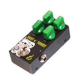 Pedal para Guitarra Dust and Tones Distortion Fire Custom Shop