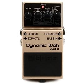 Pedal para Guitarra e Contrabaixo AW 3 Dynamyc Wah Boss