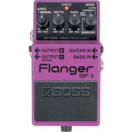 Pedal para Guitarra e Contrabaixo BF 3 Flanger Boss