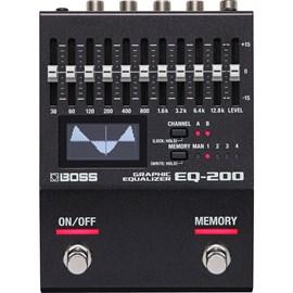 Pedal para Guitarra EQ200 Boss