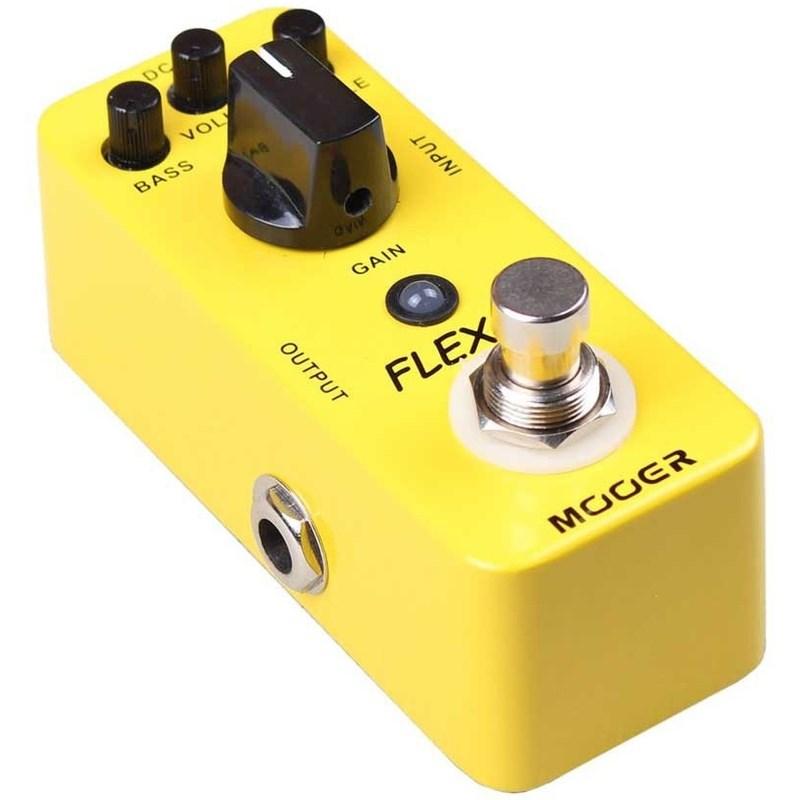 Pedal para Guitarra Flex Boost Gain Mooer