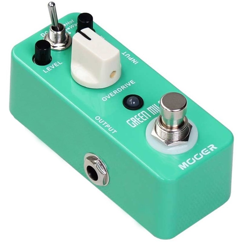 Pedal para Guitarra Green Mile - Overdrive Mooer