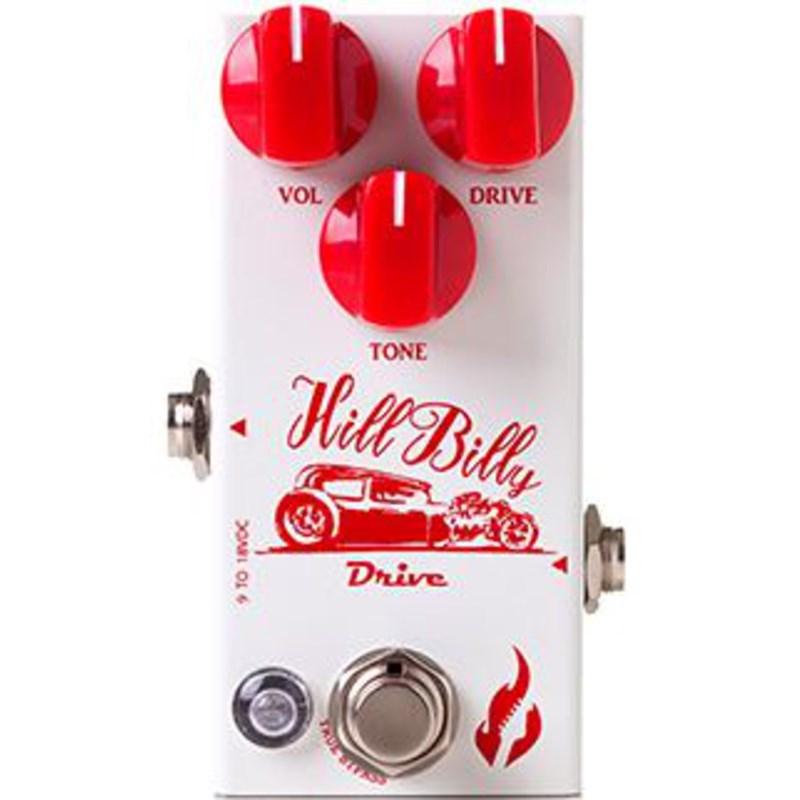 Pedal para Guitarra Hill Billy Drive Fire Custom Shop