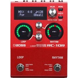 Pedal para Guitarra Loop Station RC-10R Boss
