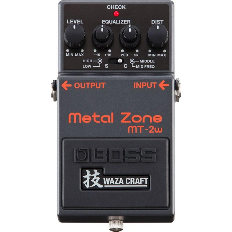 PEDAL PARA GUITARRA METAL ZONE MT-2W Boss