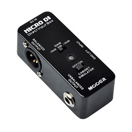 "Pedal para Guitarra ""micro Di"" Direct Input Box Mooer"