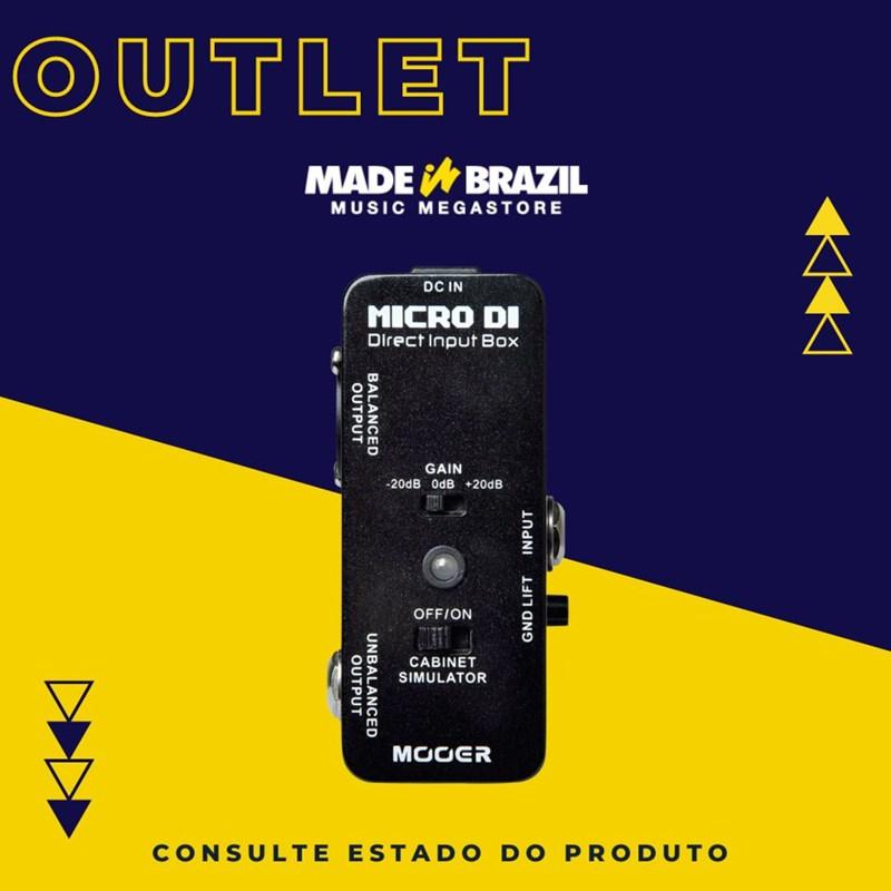 "Pedal para Guitarra ""micro Di"" Direct Input Box Mooer"
