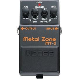 Pedal para Guitarra MT-2  Metal Zone Boss