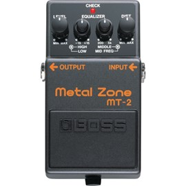 Pedal para Guitarra MT 2  Metal Zone Boss
