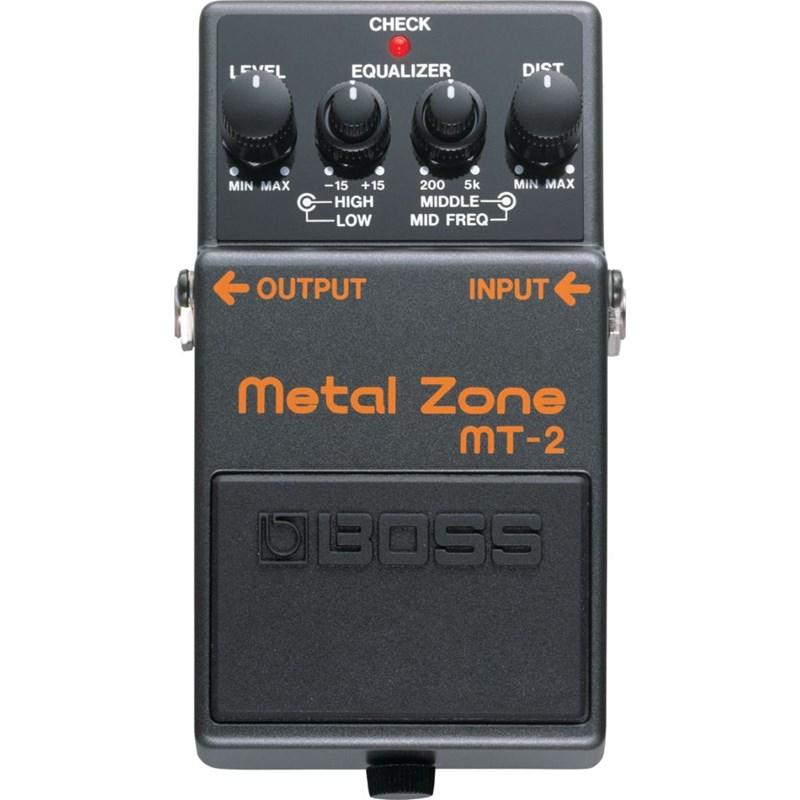 Pedal para Guitarra MT 2  Metal Zone Boss