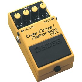 Pedal para Guitarra OS-2 Overdrive / Distortion Boss