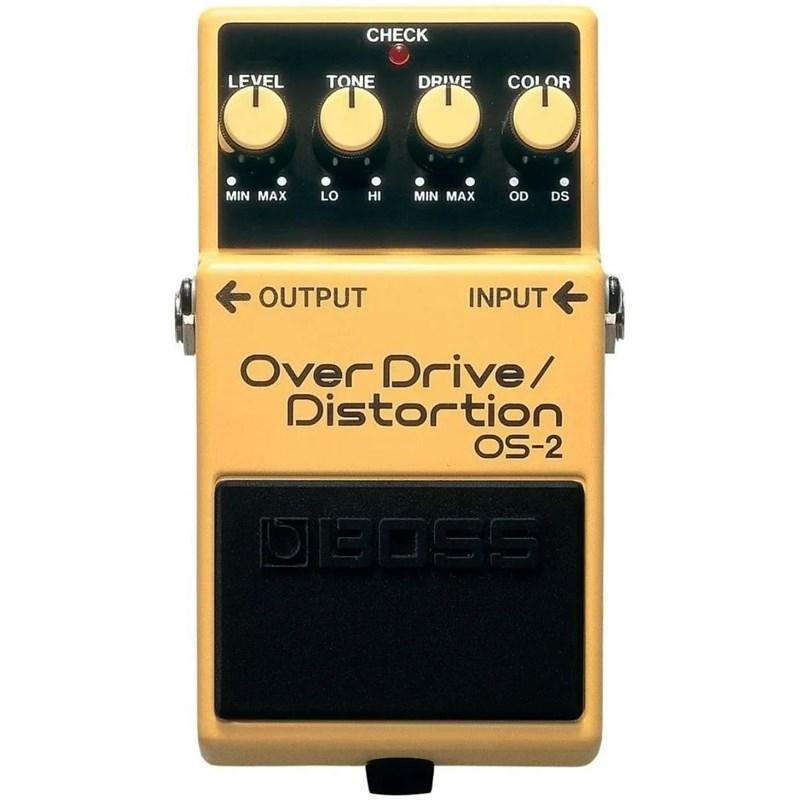 Pedal para Guitarra OS 2 Overdrive / Distortion Boss