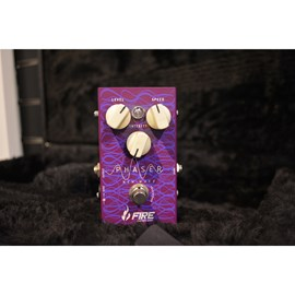 Pedal para Guitarra Phaser New Wave Fire Custom Shop