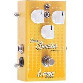 Pedal para Guitarra Power Booster Fire Custom Shop