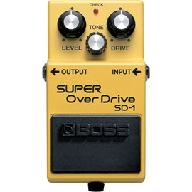 Pedal para Guitarra SD 1 Super Overdrive Boss