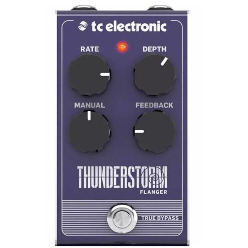 Pedal para Guitarra Thunderstorm Flanger TC Electronic