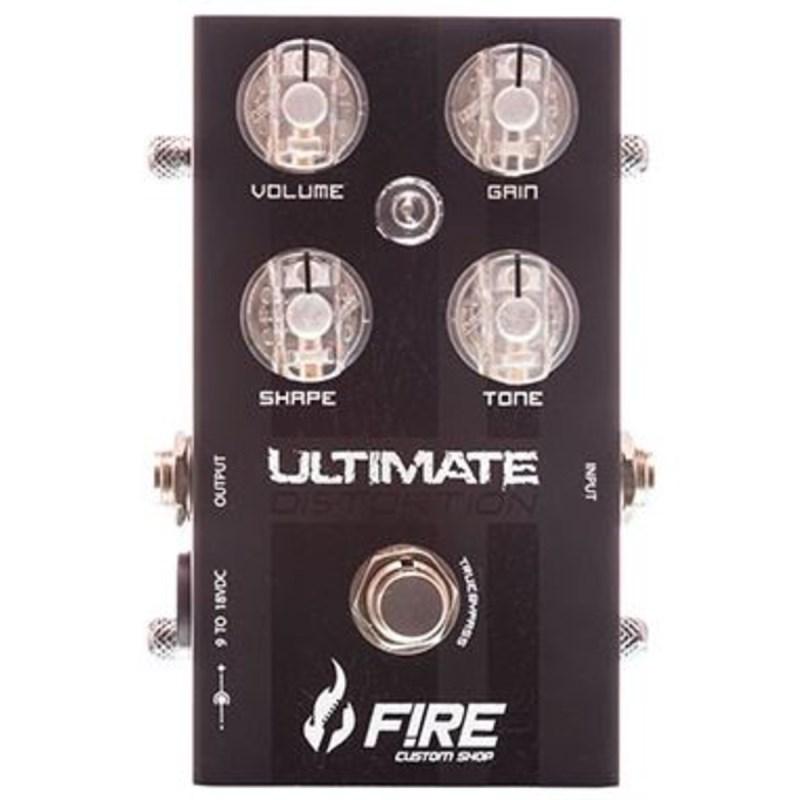 Pedal para Guitarra Ultimate Distortion Fire Custom Shop