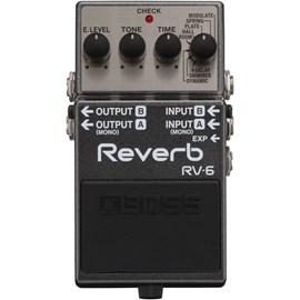 Pedal RV-6 Digital Reverb Boss