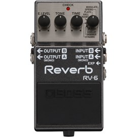 Pedal RV-6 Digital Reverb Boss