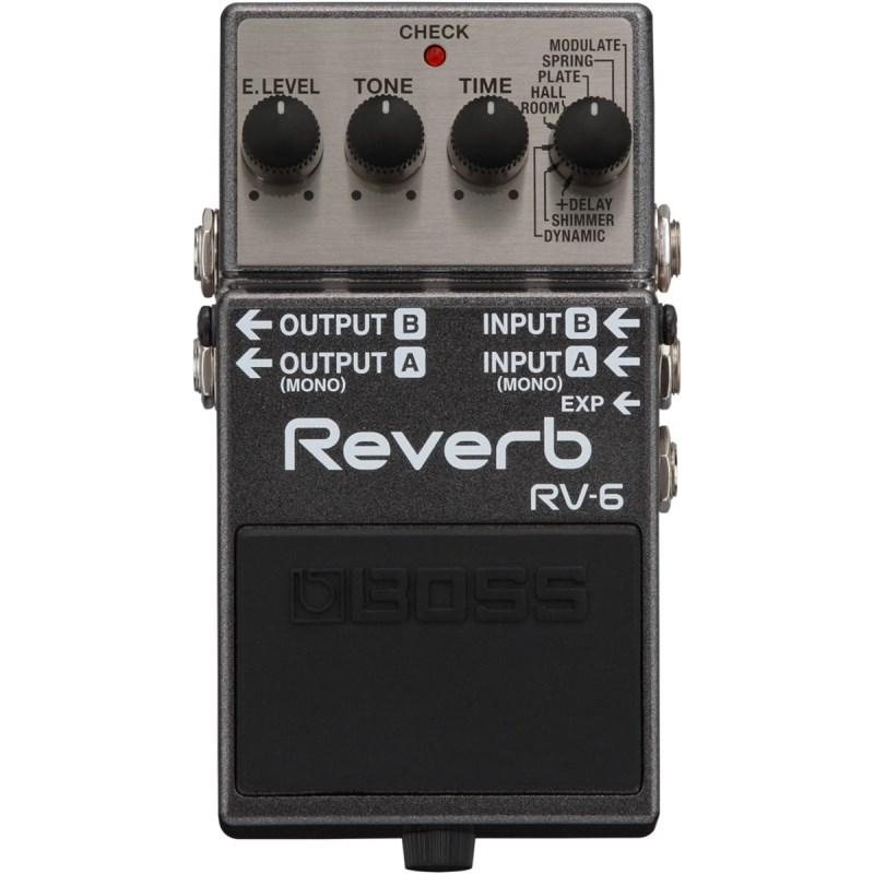 Pedal RV 6 Digital Reverb Boss