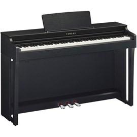 PIANO CLAVINOVA CLP-625PE / BRA Yamaha - Preto (Polished Ebony) (PE)