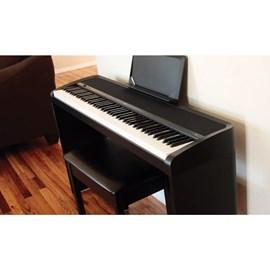 Piano Digital B1SP 88 teclas com Estante Original STB1 e Pedais PU2 Korg - Preto (BK)