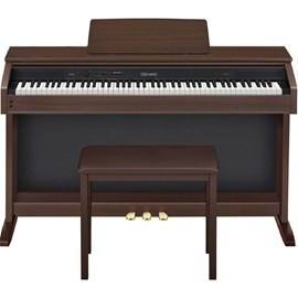 Piano Digital Casio AP-260 com Banco Casio - Marrom (Oak) (BN)