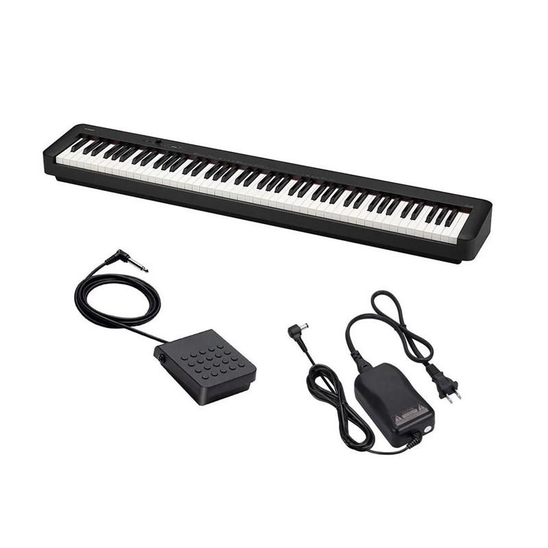 Piano Digital CDP S100 88 Teclas Sensitivas Casio - Preto (BK)
