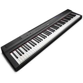 Piano Digital Com Fonte Preto P-125B Yamaha - Preto (Black) (BL)