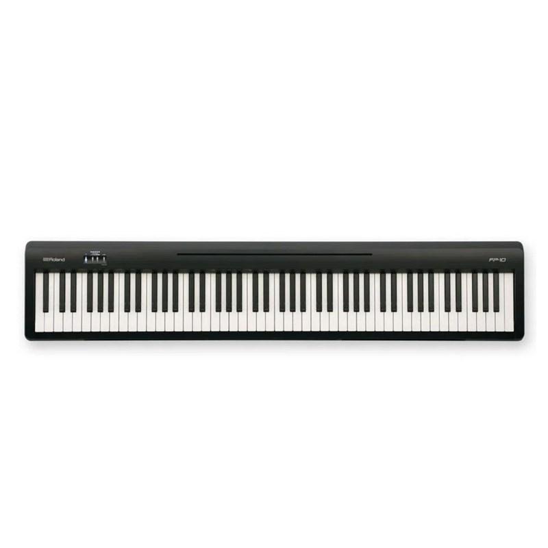 Piano Digital FP 10 Preto ( sem estante ) Roland - Preto (BK)