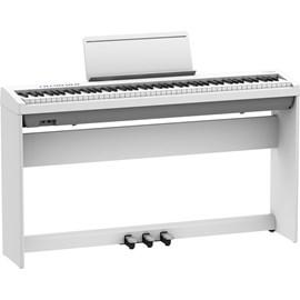 Piano Digital FP 30X com Pedal Triplo KPD 70 e Móvel KSC 70 Roland - Branco (WH)