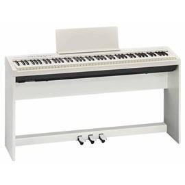 Piano Digital FP30 com Estante Ksc-70 e Pedalboard Kpd-70 Roland - Branco (WH)