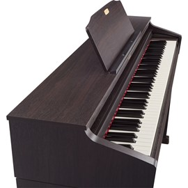 Piano Digital HP504 com Banco Roland - Marrom (Dark Rosewood) (DR)