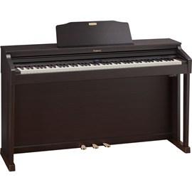 Piano Digital HP504 com Banco Roland - Marrom (Dark Rosewood) (DR)