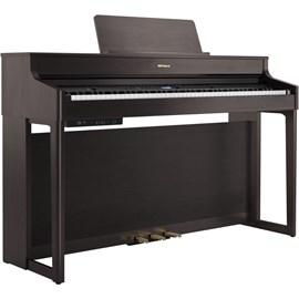 Piano Digital HP702 DR Com KSH-704/2DR + Banco-05-BK2 Roland - Marrom (Dark Rosewood) (DR)