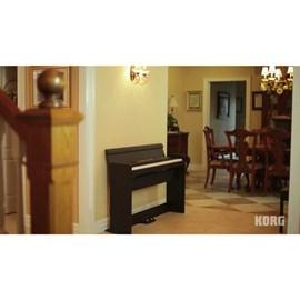 Piano Digital Korg Mod. Lp-380 Rw Korg - Marrom (Rosewood) (RW)