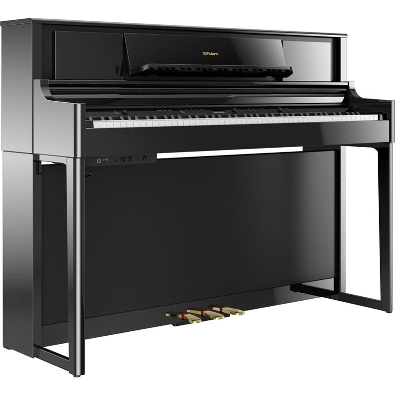 Piano Digital LX705 PE com BNC e KS L705 DR Roland
