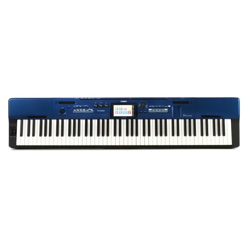 Piano Digital PX560M Privia com 88 Teclas e Pedal Casio - Azul (Blue) (BL)
